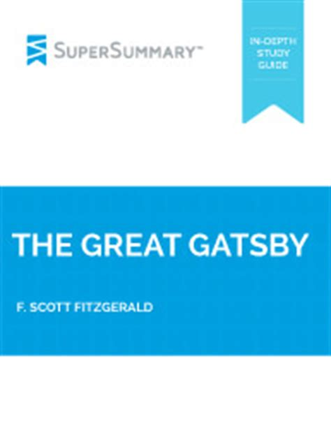 Critical analysis essay on the great gatsby